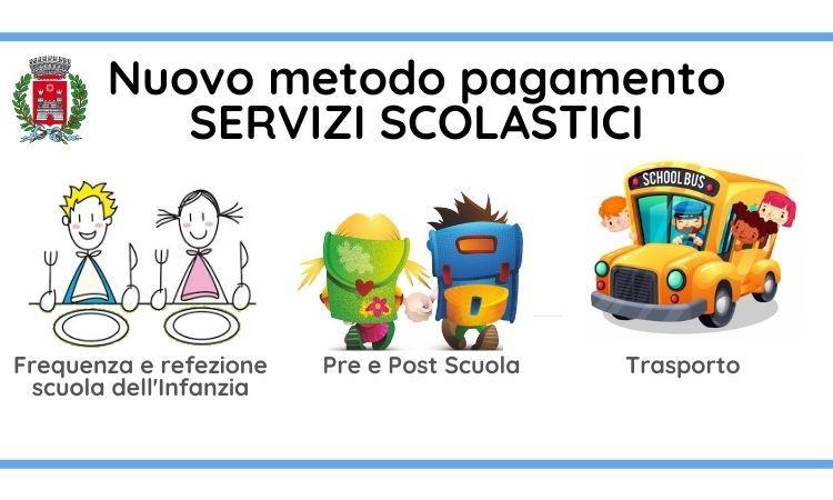 Pagamenti servizi scolastici